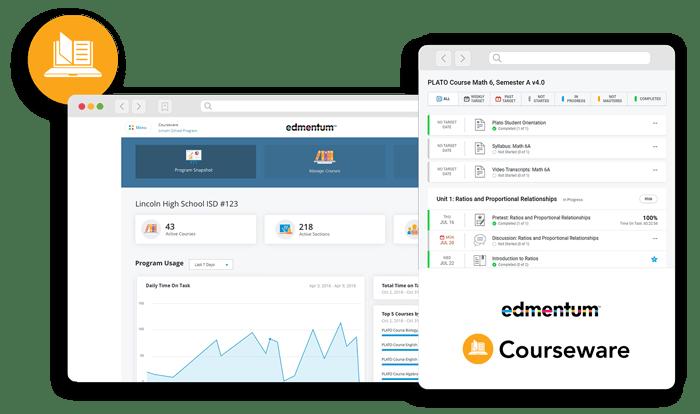 courseware education technology edmentum