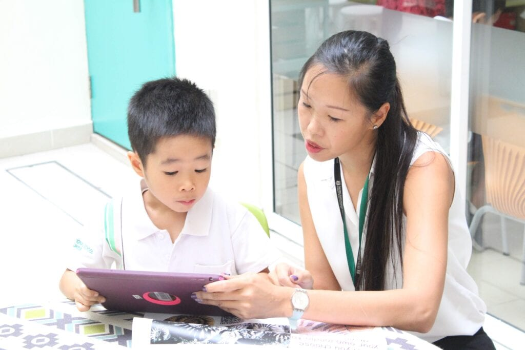 Garden International School Student & Teacher